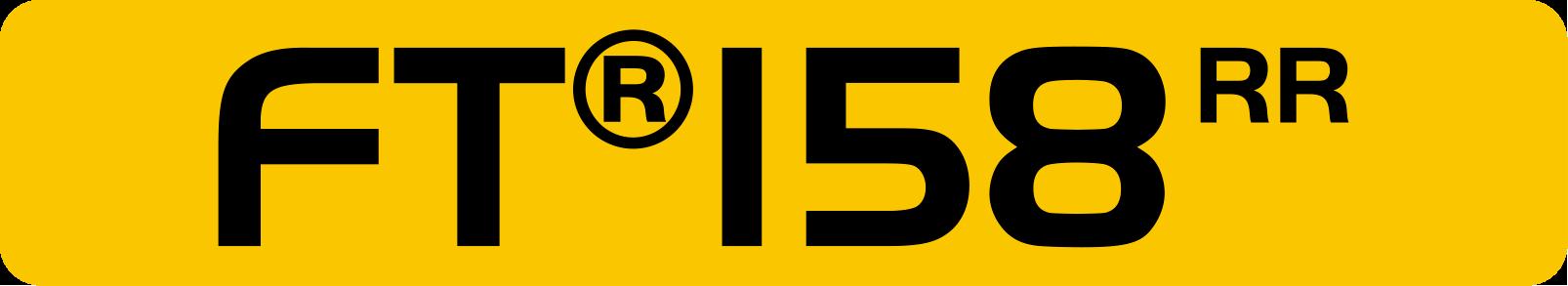 FTR 158 RR